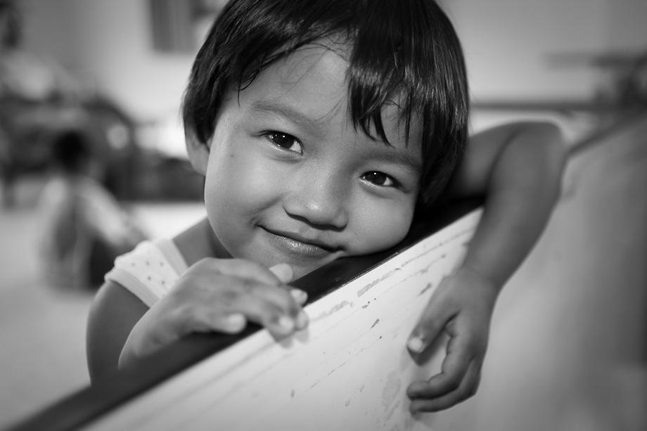 Girl, 7 years at creche in Tamar Centre, Pattaya
