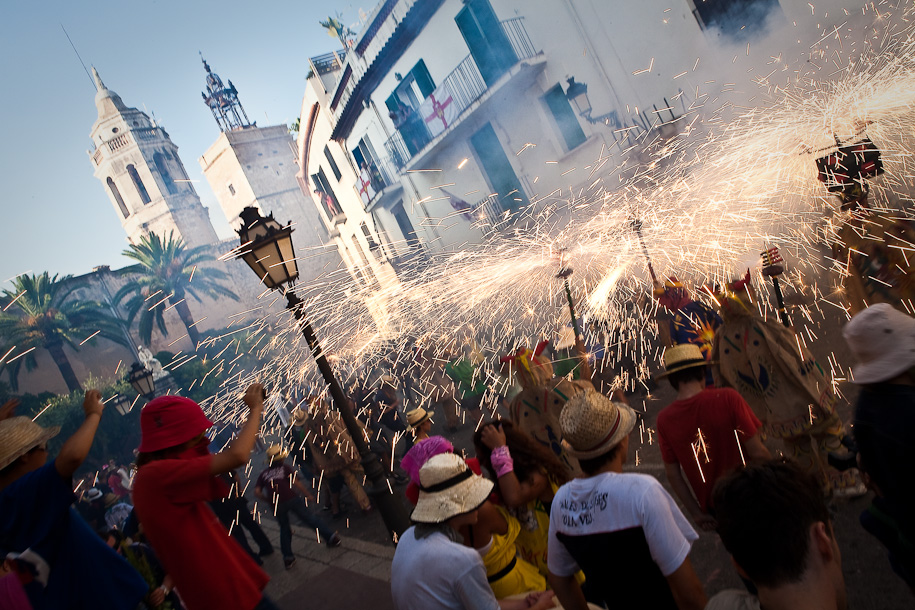 Festa Major opens in Sitges town square