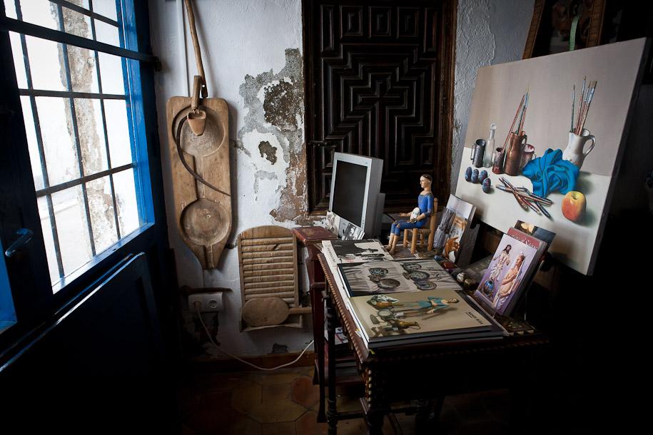 Manuel Blesa art gallery, Sitges, Spain