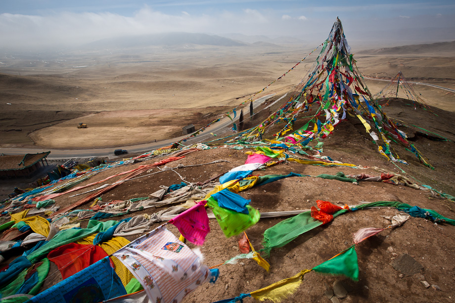 Sun Moon Mountain, Qinghai, Tibetan Plateau