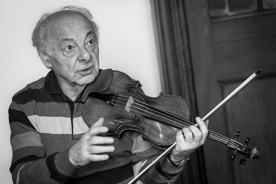 György Pauk teaching