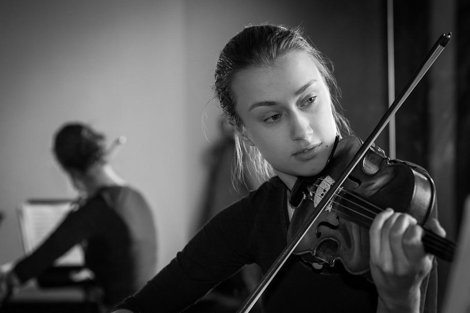 Kristine Balanas at György Pauk masterclass