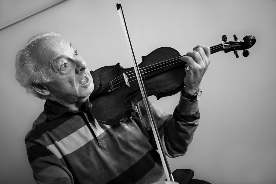 György Pauk at masterclass