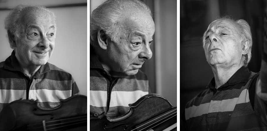 Faces of György Pauk